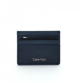 Calvin Klein Marissa K60K603188 blue leather cardholder