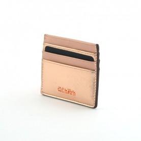 Calvin Klein Marissa K60K603188 pink leather cardholder
