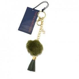 Trussardi Jeans 75K00000 green key ring