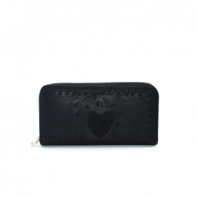 Desigual 19WAYP18 black zip around wallet