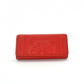 Desigual 19WAYP07 red zip around wallet