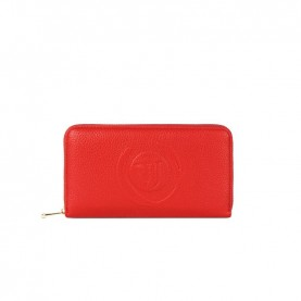 Trussardi jeans 75W00201 Faith red wallet