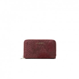 Desigual 20WAYP13 bordeaux zip around wallet