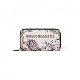 Braccialini B14350 126 Britney flower zip around wallet