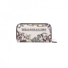Braccialini B14350 126 Britney flower zip around wallet