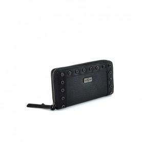 Cult 1136 black zip around wallet