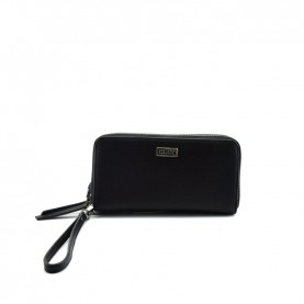 Cult 9369 black zip around wallet