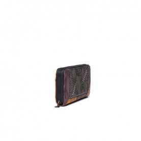 Desigual 20WAYP12 patchwork zip around wallet