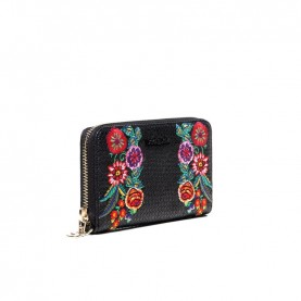 Desigual 19SAYP26 flowers medium wallet