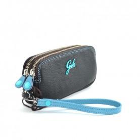 Gabs Gfolderbig ruga black leather wallet