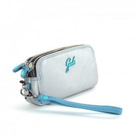 Gabs Gfolderbig ruga silver leather wallet