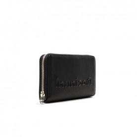 Desigual 21SAYP35 black logo zip around wallet