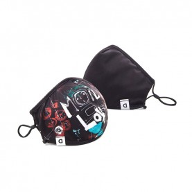 Desigual  20WAOA01 reversible love mask and pouch