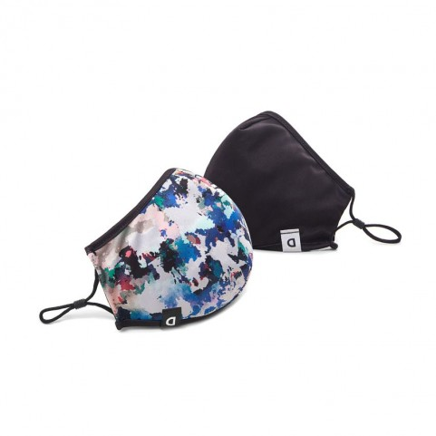 Desigual  20WAOA02 reversible arty mask and pouch