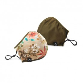 Desigual  20WAOA04 reversible camo flower mask and pouch