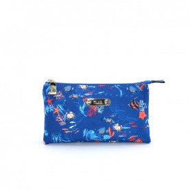 Alviero Martini CBE128 imperial blue beauty bag