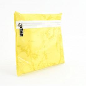 Alviero Martini CBE030 lemon yellow beauty bag