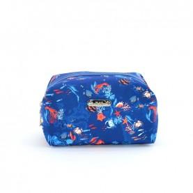 Alviero Martini CBE106 imperial blue medium beauty bag