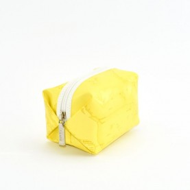 Alviero Martini CBE003 yellow small beauty bag
