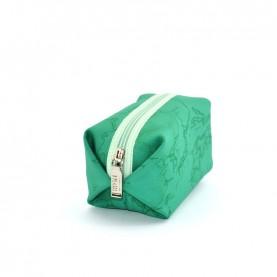 Alviero Martini CBE003 emerald green small beauty bag