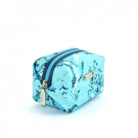 Alviero Martini CBE167 turquoise small beauty bag