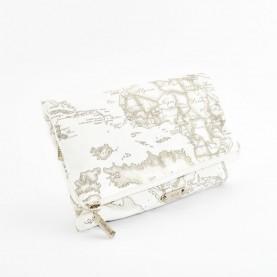 Alviero Martini CBE134 white beauty bag