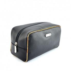 Alviero Martini CBE140 black leather beauty case
