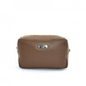 Alviero Martini CBE135 beaver brown leather beauty case