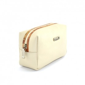 Alviero Martini CBE135 beige leather beauty case