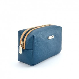 Alviero Martini CBE135 dark blue leather beauty case