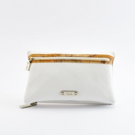 Alviero Martini CBE138 white leather pochette