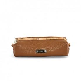 Alviero Martini CBE127 brown leather pencil holder