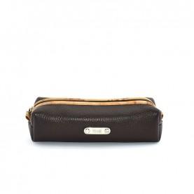 Alviero Martini CBE127 dark brown leather pencil holder