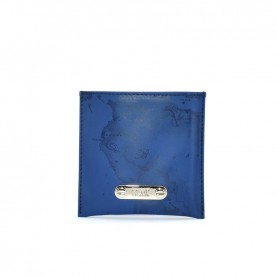Alviero Martini CBE123 blue geo bag mirror
