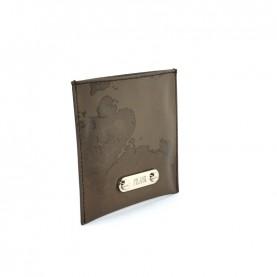 Alviero Martini CBE123 brown geo bag mirror