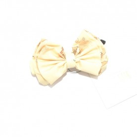 Alviero Martini CBE189 butter hair clip with bow