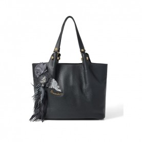 Braccialini B13612 Sofia black tote bag