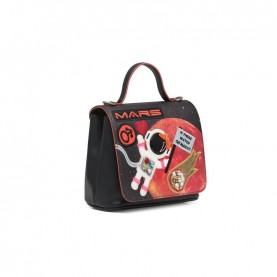 Braccialini B13241 Tua Cartoline handle bag Mars
