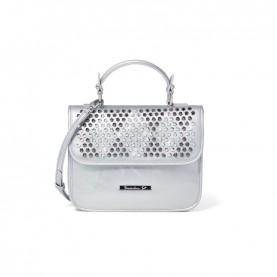 Braccialini B13294 Tua Strap silver studs handle bag
