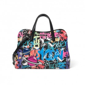 Braccialini B13340 Tua Murales handle bag multicolor
