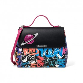 Braccialini B13341 Tua Murales handle bag multicolor