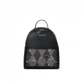 Braccialini B13296 Tua Strap black studs backpack