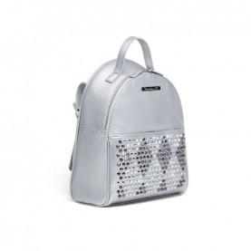 Braccialini B13296 Tua Strap silver studs backpack