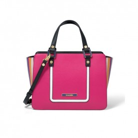 Braccialini B13440 Michelle fuxia handle bag