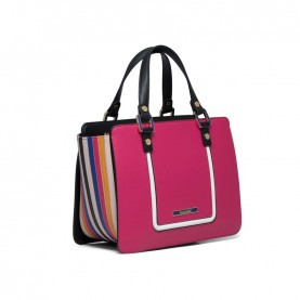 Braccialini B13440 Michelle fuxia handle bag
