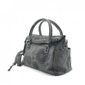 Desigual 19WAXPD7 2014 grey handle bag