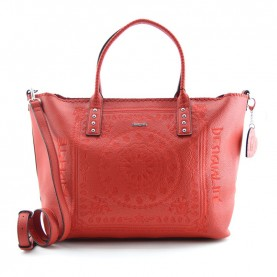 Desigual 19WAXP80 3083 red shopping bag