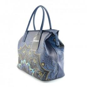 Desigual 19WAXP21 5082 blue shopping bag