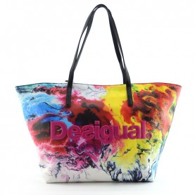Desigual 19WAXP16 3002 printed shopping bag