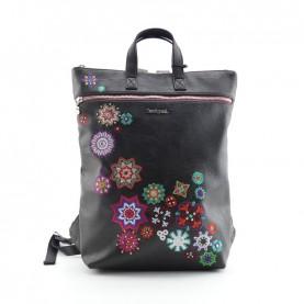 Desigual 19WAKP07 2000 black mandala backpack